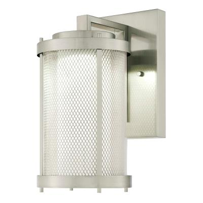 One-Light Dimmable LED Outdoor Wall Fixture