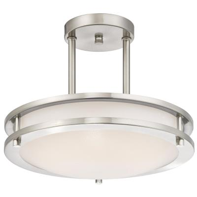 30 cm Dimmable LED Indoor Semi-Flush Mount Ceiling Fixture