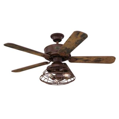 Barnett 122 cm Indoor Ceiling Fan with Dimmable LED Light Kit