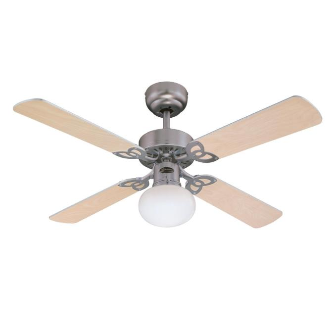 Vegas 105 Cm 42 Inch Reversible Four Blade Indoor Ceiling Fan