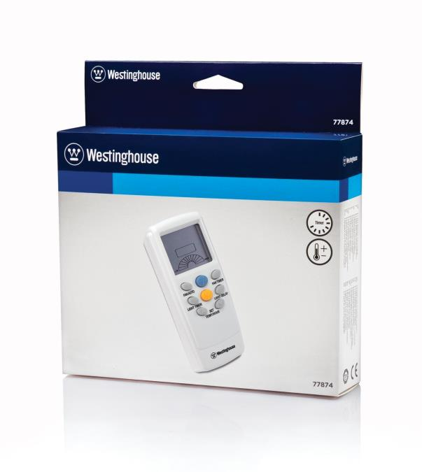 Westinghouse Radio Frequency Remote Control For Ceiling Fans