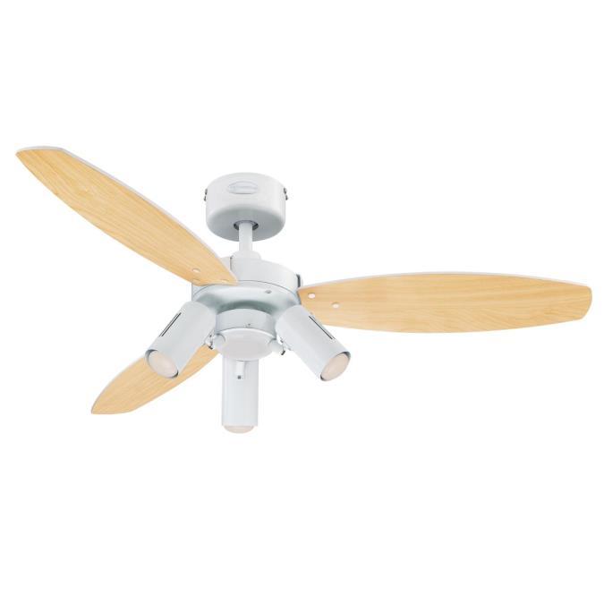 Ceiling Fan Deutsch : westinghouse jet plus 105 cm reversible three blade indoor ~ A.2002-acura-tl-radio.info Haus und Dekorationen